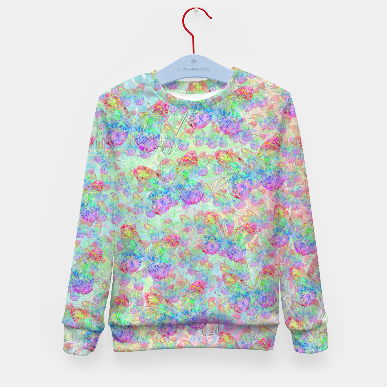 Image of butterfly Kid's Sweater - Live Heroes