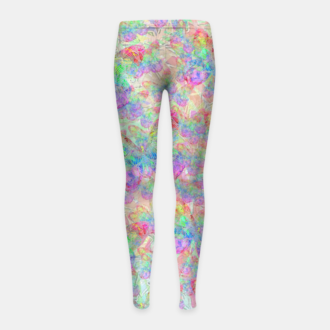 Image of butterfly Girl's Leggings - Live Heroes