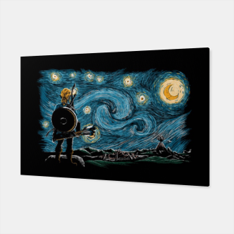 Miniaturka Starry Breath Canvas, Live Heroes