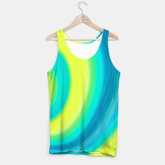 Miniaturka Flow abstract waves Tank Top, Live Heroes