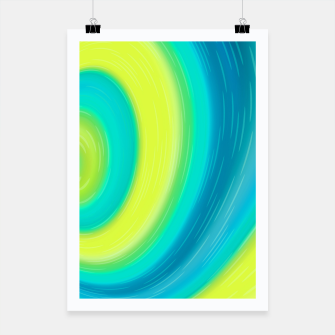 Miniaturka Flow abstract waves Poster, Live Heroes