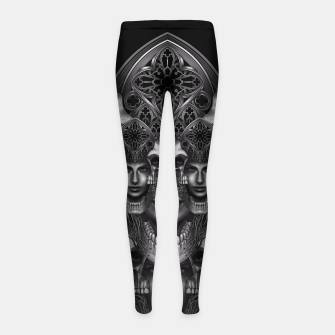 Thumbnail image of Winya No. 110 Girl's Leggings, Live Heroes