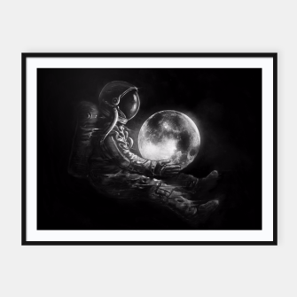 Thumbnail image of Moon Play Framed poster, Live Heroes