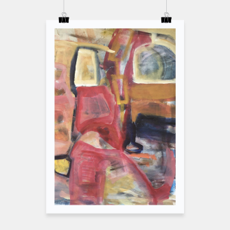 Thumbnail image of Christmas Shopping Abstract Work Poster, Live Heroes