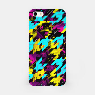 HOUNDSTOOTH GEEK iPhone Case thumbnail image