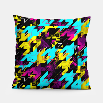 HOUNDSTOOTH GEEK Pillow thumbnail image