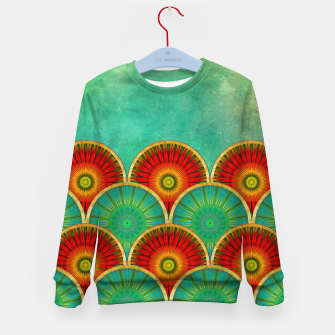 Thumbnail image of Fancy Mandala Pattern  Kid's Sweater, Live Heroes