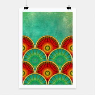 Thumbnail image of Fancy Mandala Pattern  Poster, Live Heroes
