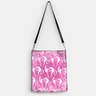 Thumbnail image of Pink Cat Mood Handbag, Live Heroes