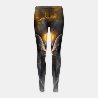 Thumbnail image of Esfantelinous Girl's Leggings, Live Heroes