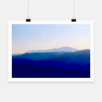 Thumbnail image of Sunset in Rhodes Shades of Indigo Plakat, Live Heroes
