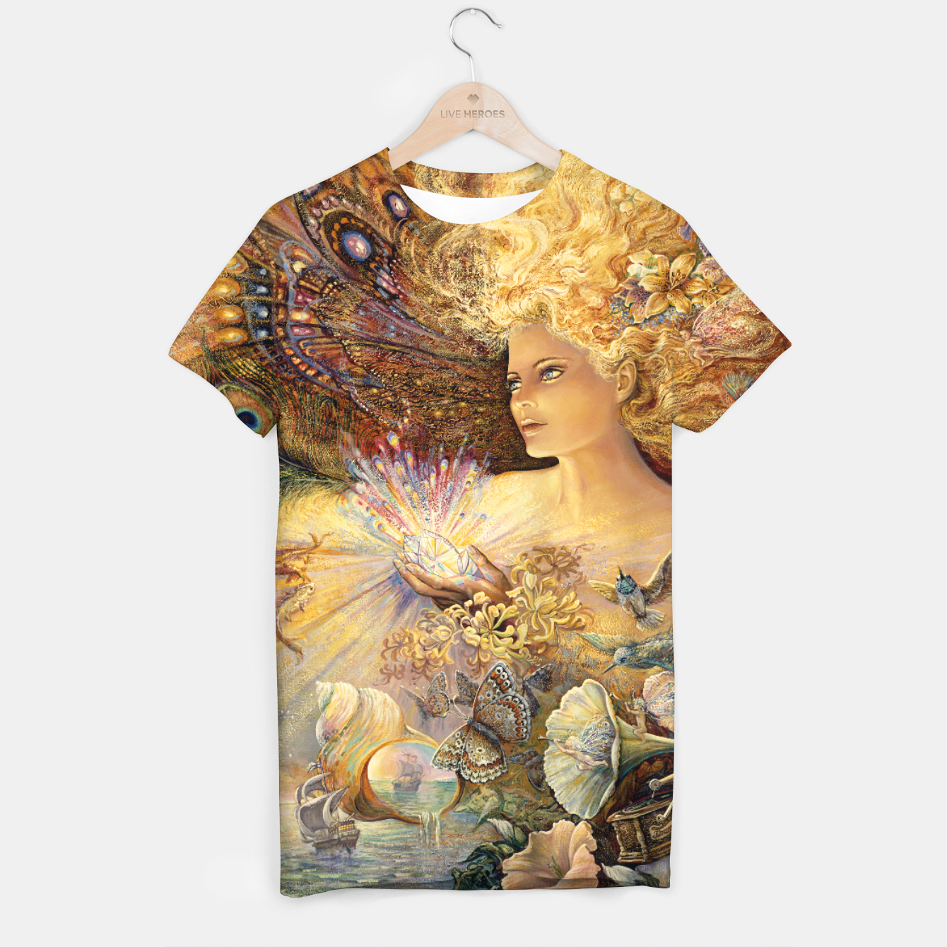 Image of Crystal of Enchantment T-shirt - Live Heroes