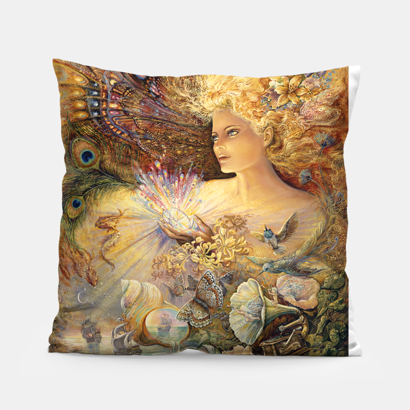Image of Crystal of Enchantment Pillow - Live Heroes
