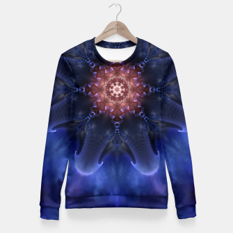 Thumbnail image of Scorpion Star Fitted Waist Sweater, Live Heroes