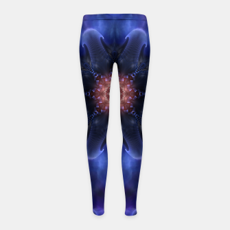 Thumbnail image of Scorpion Star Girl's Leggings, Live Heroes