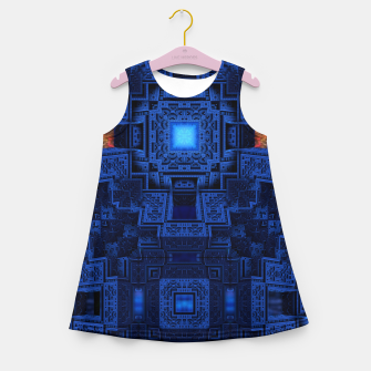 Thumbnail image of TOL195404 Girl's Summer Dress, Live Heroes