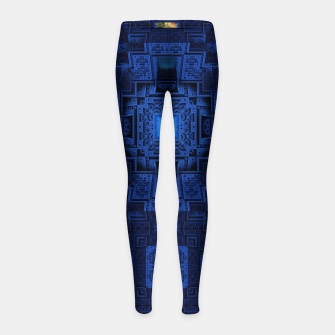 Thumbnail image of TOL195404 Girl's Leggings, Live Heroes