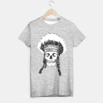 Miniatur Skull headdress T-shirt regular, Live Heroes