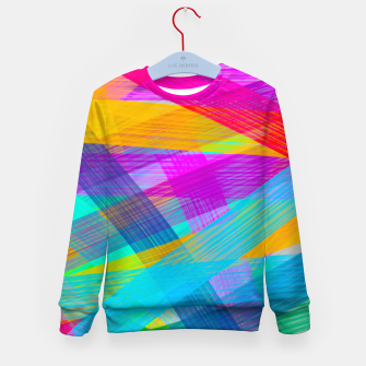 Miniature de image de Abstrakt N1 Kid's Sweater, Live Heroes
