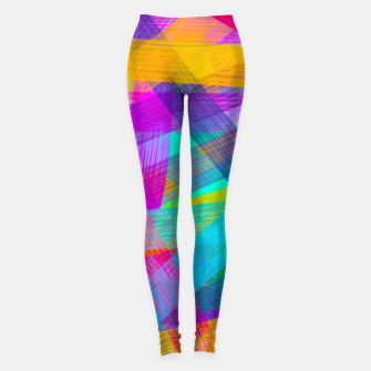 Thumbnail image of Abstrakt N1 Leggings, Live Heroes