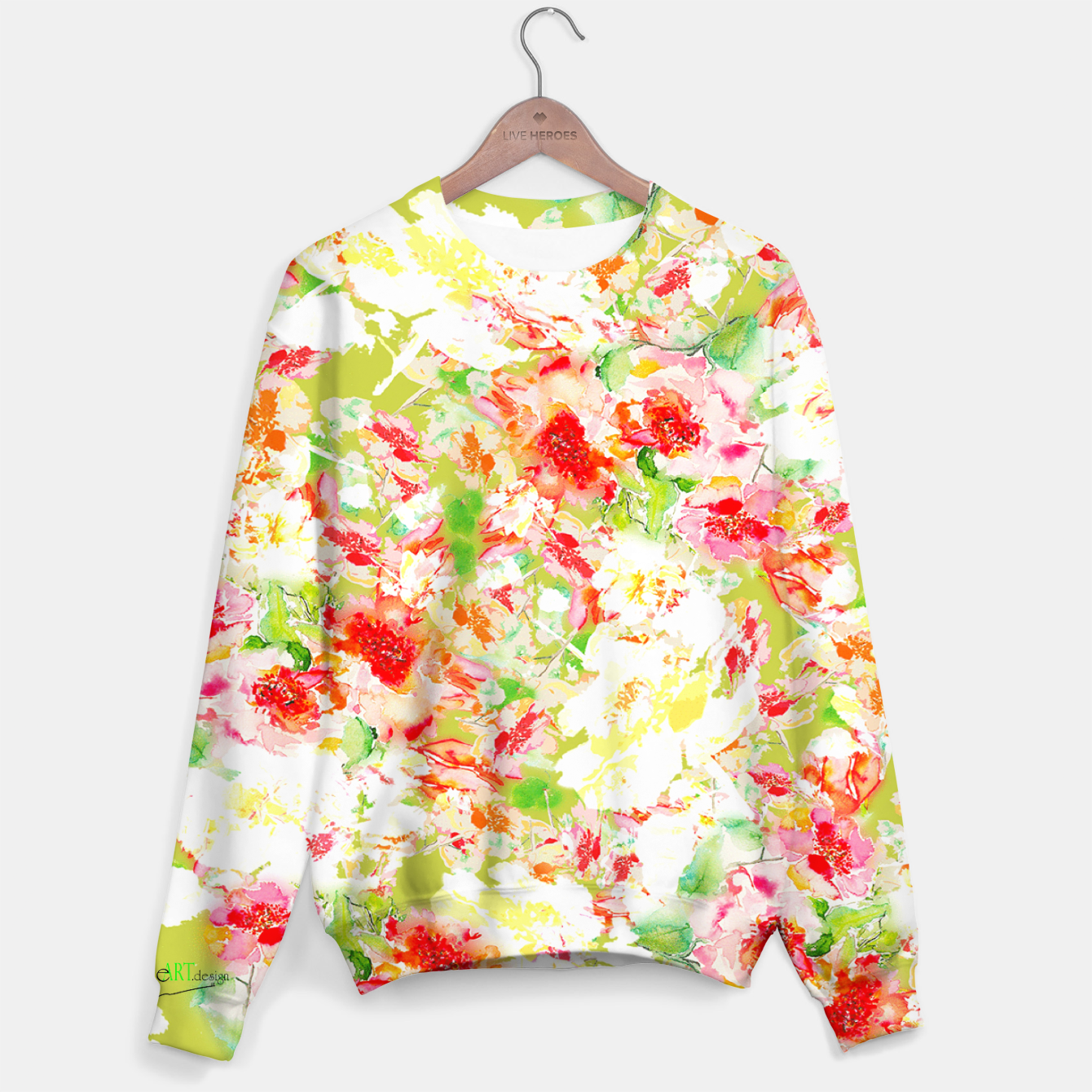 Image of Passionsflower Sweater - Live Heroes