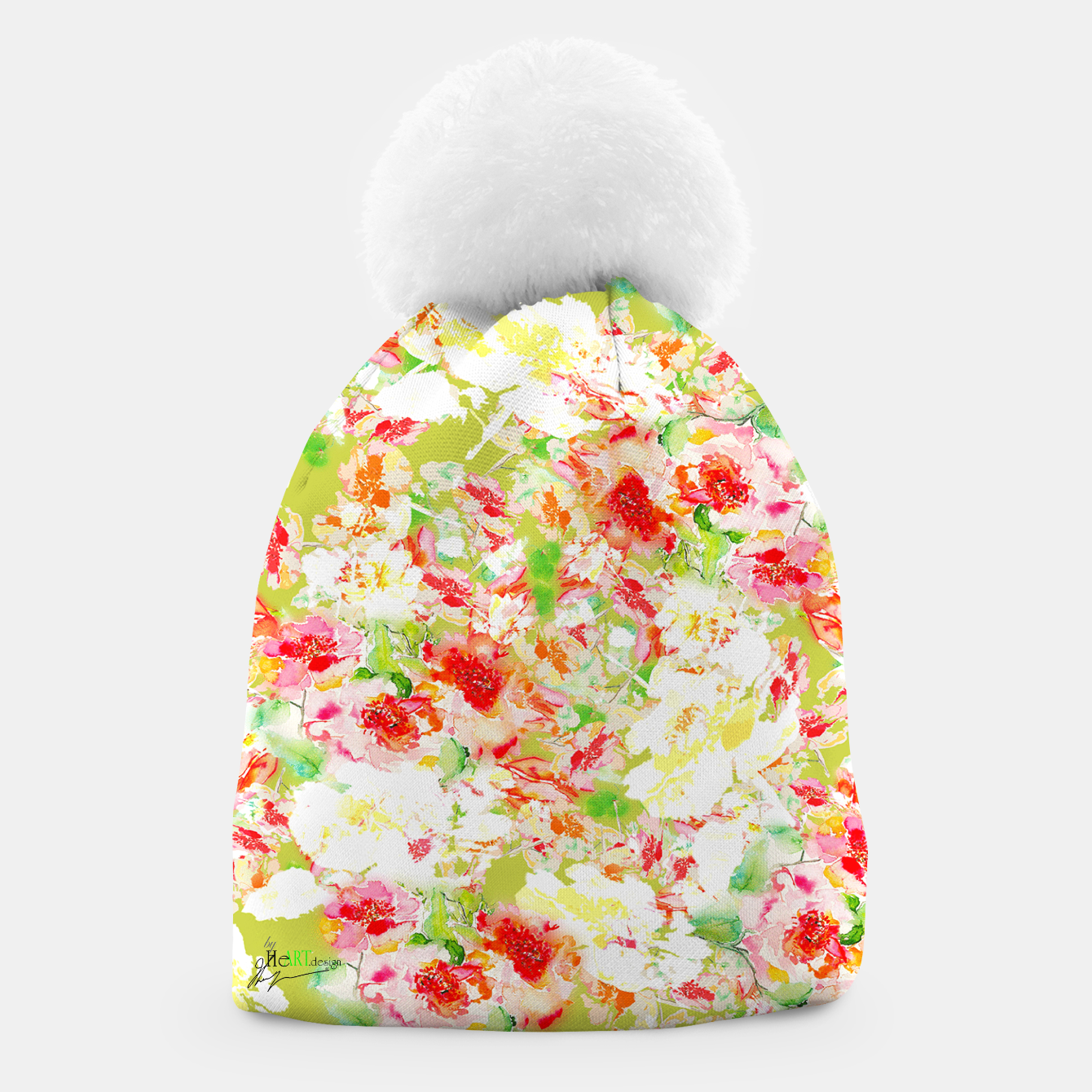 Image of Passionsflower Beanie - Live Heroes