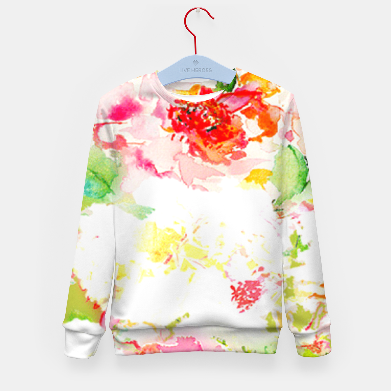 Image of Passionsflower Kid's Sweater - Live Heroes