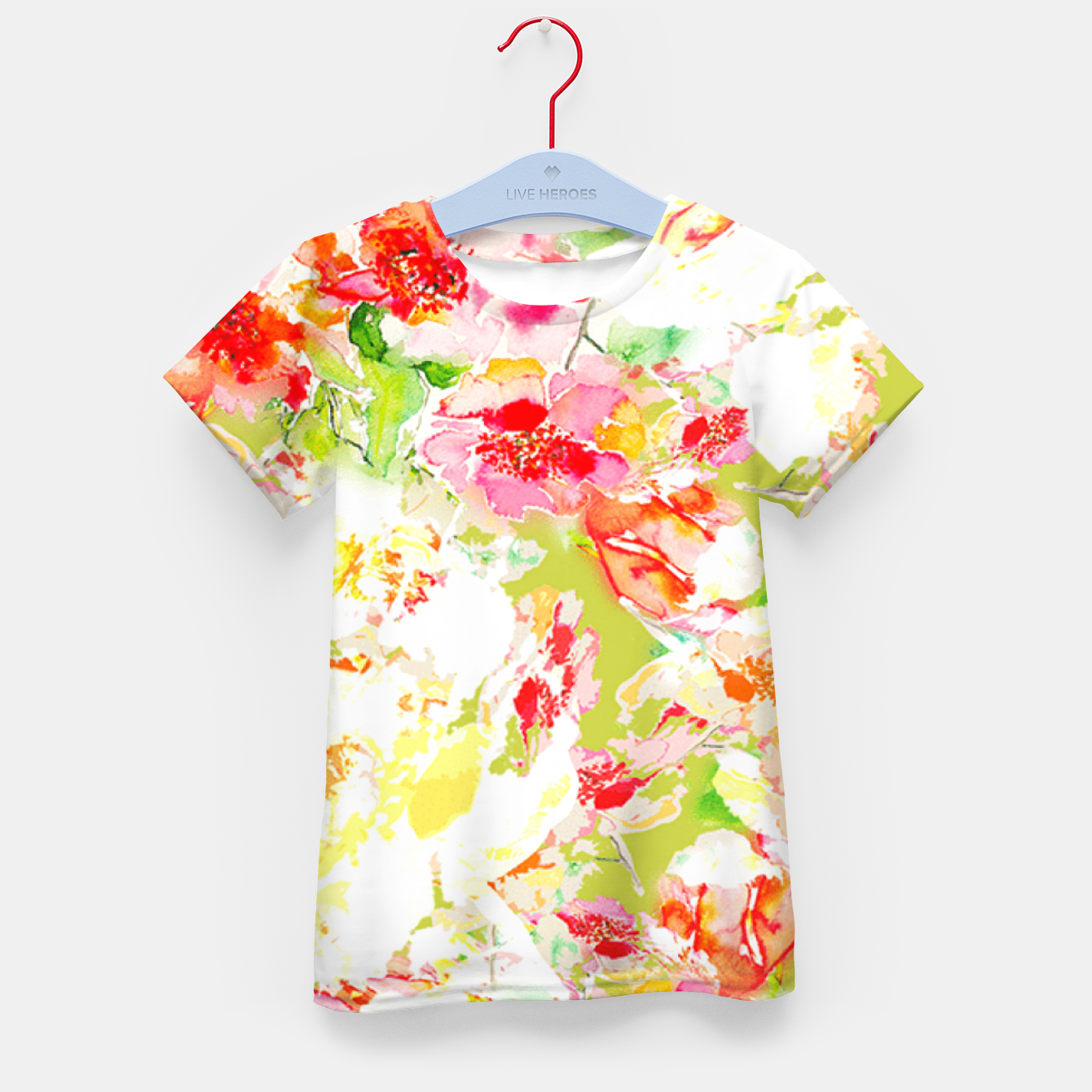 Image of Passionsflower Kid's T-shirt - Live Heroes