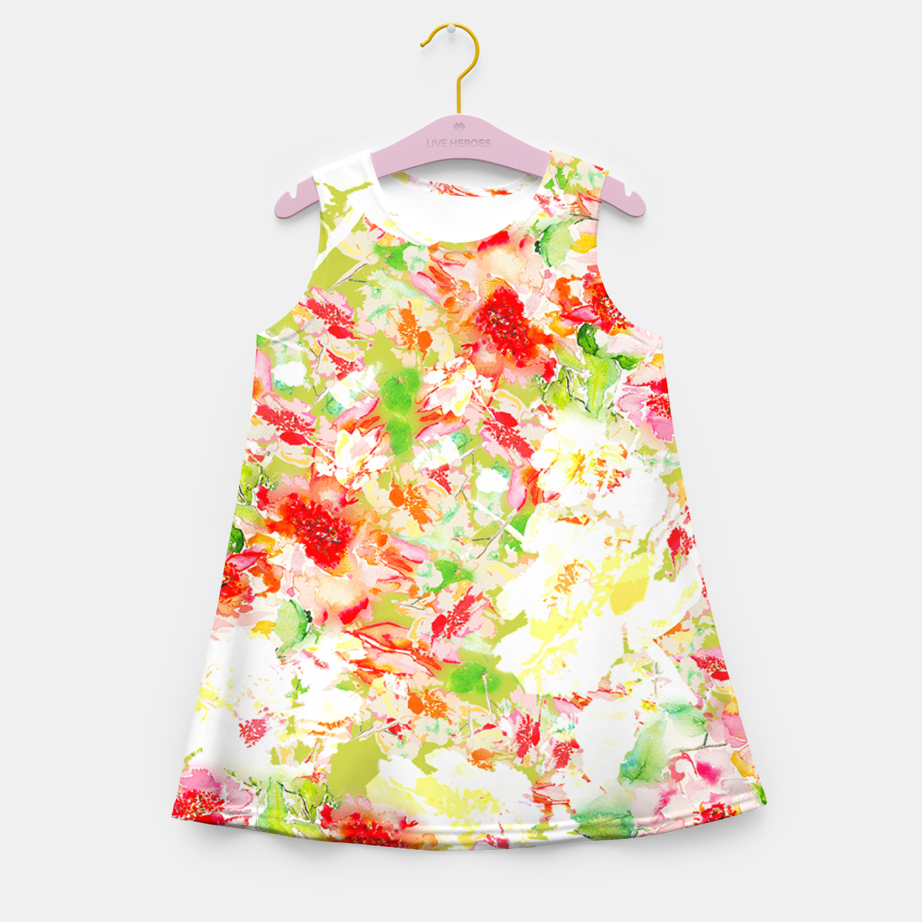 Image of Passionsflower Girl's Summer Dress - Live Heroes