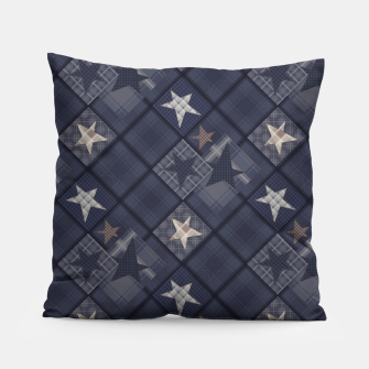 Miniaturka Starry abstract navy pattern Pillow, Live Heroes