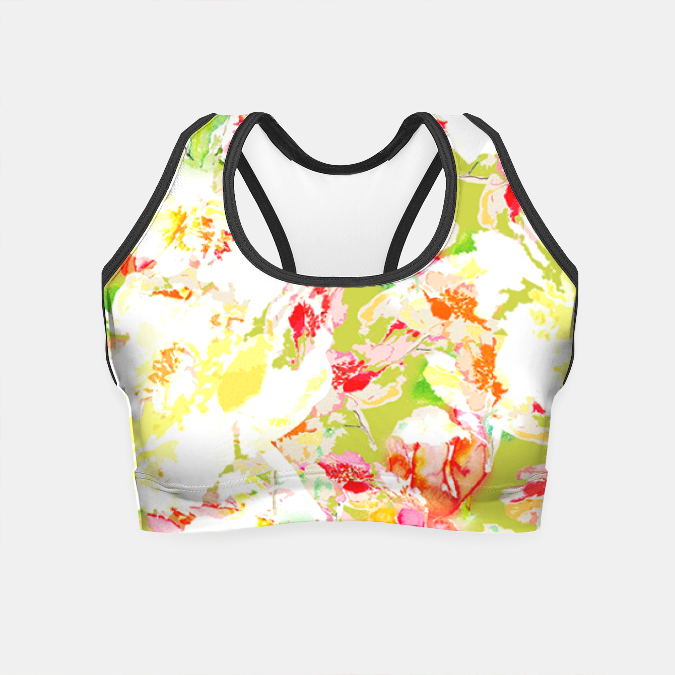 Image of Passionsflower Crop Top - Live Heroes