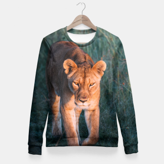 Thumbnail image of Lioness Fitted Waist Sweater, Live Heroes