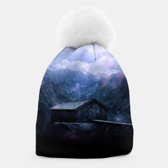 Thumbnail image of The cabin in the mist Beanie, Live Heroes