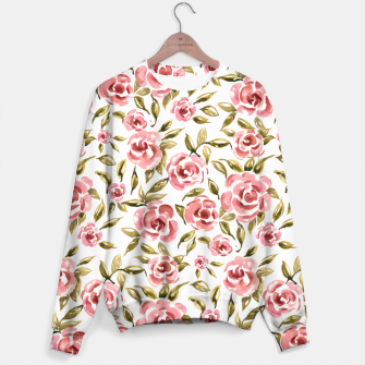 Thumbnail image of Pink Roses Sweater, Live Heroes