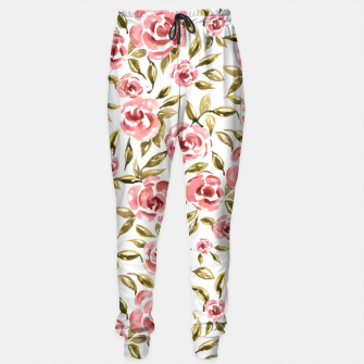 Thumbnail image of Pink Roses Sweatpants, Live Heroes