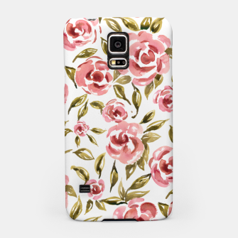 Thumbnail image of Pink Roses Samsung Case, Live Heroes