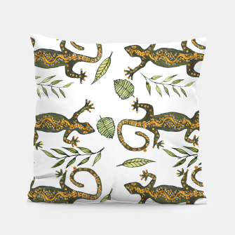 Thumbnail image of Lady Gecko Pillow, Live Heroes