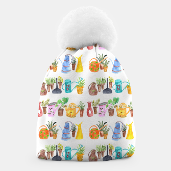 Thumbnail image of Green Little Fingers Beanie, Live Heroes