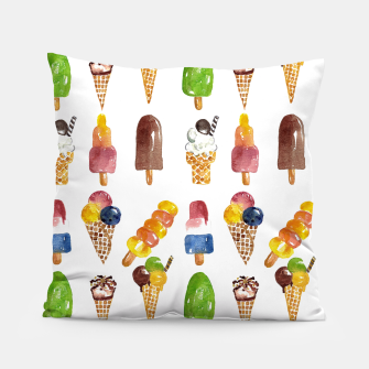 Thumbnail image of Anna's Icecream Collection Pillow, Live Heroes