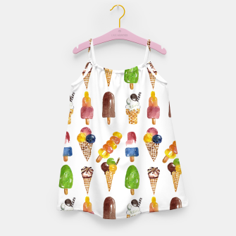 Thumbnail image of Anna's Icecream Collection Girl's Dress, Live Heroes