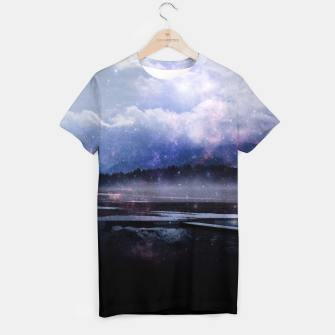 Miniaturka Space Cloud T-shirt, Live Heroes
