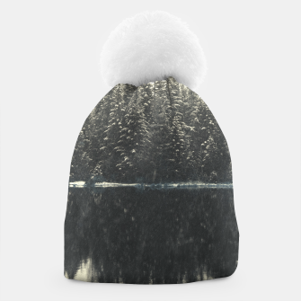 Thumbnail image of Vintage Forest Beanie, Live Heroes
