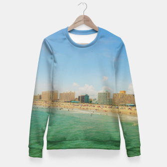 Miniaturka Beach Fitted Waist Sweater, Live Heroes