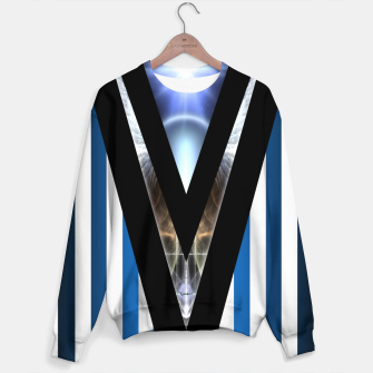 Thumbnail image of WOAHAW-DF Blue Sweater, Live Heroes