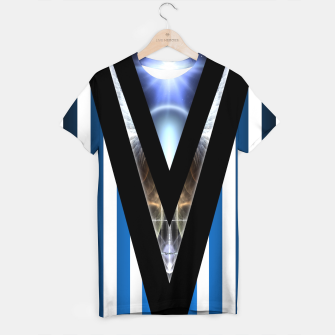 Thumbnail image of WOAHAW-DF Blue T-shirt, Live Heroes