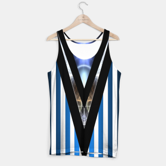 Thumbnail image of WOAHAW-DF Blue Tank Top, Live Heroes