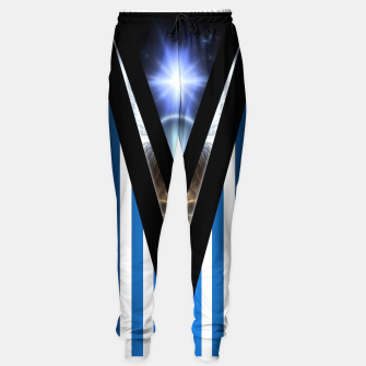 Thumbnail image of WOAHAW-DF Blue Sweatpants, Live Heroes