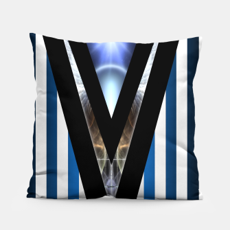 Thumbnail image of WOAHAW-DF Blue Pillow, Live Heroes
