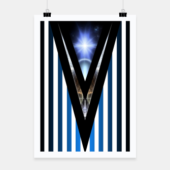 Thumbnail image of WOAHAW-DF Blue Poster, Live Heroes