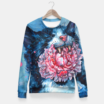 Thumbnail image of Yawn Fitted Waist Sweater, Live Heroes